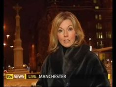 Mary Nightingale in a full length fur coat - YouTube