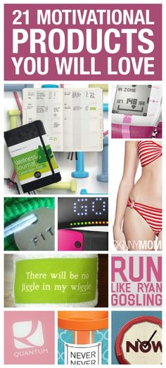 93482ff5f01c8 These products will help you stay motivated all year round! Wellness  Fitness