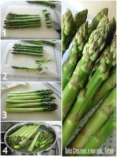 Come pulire gli asparagi | scuola di cucina
