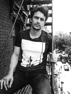 James Franco // Tee // Fire Escape