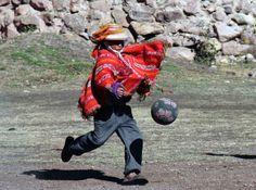Futbol en la sierra Puno Peru