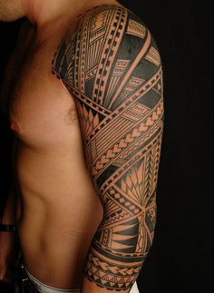 Cool Samoan tattoo
