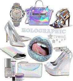 Sommer-Modetrends 2013: Kleider, Röcke, Accessoires, Taschen, Clutches, Uhren & Co im Holographic Fashion Trend (3D Metallic Effekte)