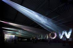 光の織機 (Canon Milano Salone 2011)by TORAFU ARCHITECTS