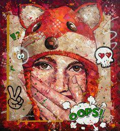 OOPS Acrylic on Canvas 185cm x 205cm