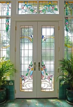 Phoenix Studio stained glass - private home