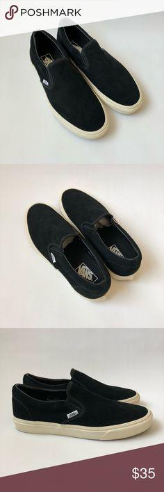 Vans Slip-On Black Suede Vans Slip-On Black Suede. NEW 2c02e3040