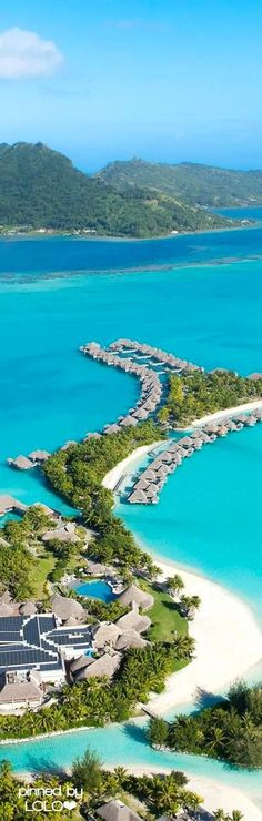 St. Regis...Bora Bora #travel #BoraBora