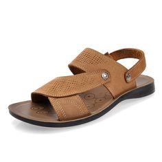 0e6f37d79 Summer male sandals male leather sandals male sandals casual leather sandals   28.86