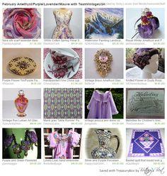 Treasury February Amethyst Purple