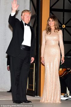 First Lady Melania Trump is known for her refined sense of fashion. Let's take a look at her style evolution over the years. Donald And Melania Trump, First Lady Melania Trump, Trump Melania, Donald Trump, Milania Trump Style, Trump Picture, Trump Is My President, African American Women, American History