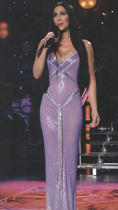 Cher The Way Of Love – The Look this dress in incredible! 70s Fashion, Runway Fashion, High Fashion, Vintage Fashion, Fashion Outfits, Style Indie, Style Grunge, Stage Outfit, 70s Mode