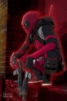 Deadpool- maybe a more casual cosplay Comic Book Characters, Marvel Characters, Comic Character, Comic Books Art, Comic Art, Marvel Vs, Marvel Dc Comics, Marvel Heroes, Anime Comics