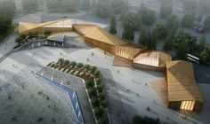 8th China Flower Expo Information Center / Lab Architecture Studio,Courtesy of Lab Architecture Studio