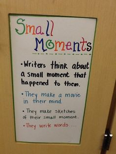 The third graders are learning to write small.