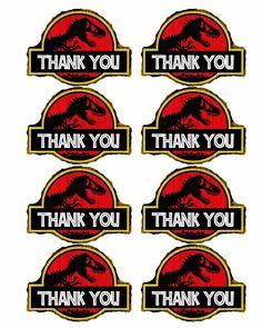 Bringing Home Ezra: Free dinosaur (Jurrasic Park) party printables Birthday Party At Park, Dinosaur Birthday Party, Boy Birthday, Birthday Ideas, Birthday Decorations, Birthday Celebration, Birthday Parties, Jurassic Park Party, Jurrassic Park