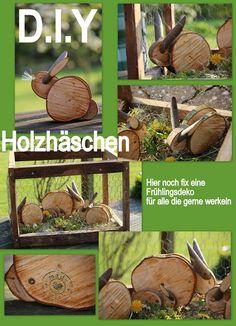 DIY Holzhasen