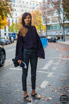 Liya Kebede by STYLEDUMONDE Street Style Fashion Photography_48A0873