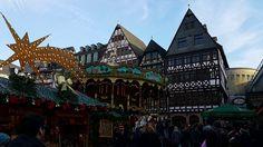 Frankfurt, Alemanha | Mercado de Natal | Felipe, o pequeno viajante