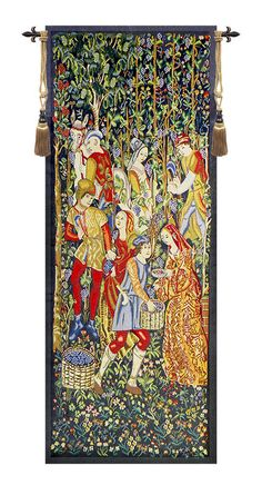 Vendage Portiere - Right Side Tapestry