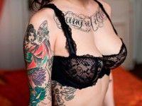 Alexandra…Painted Not Inked « CBK #NYC #tattoo #expression #art #beauty #girlpower
