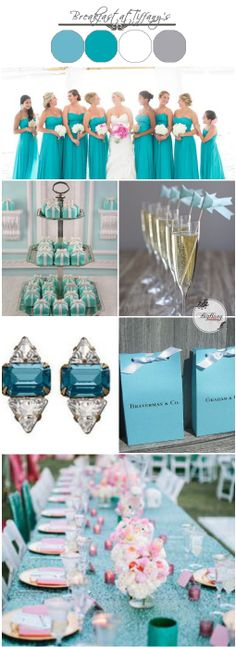 Tiffany Blue Wedding Ideas   BigBang Wedding Singapore   BigBangWedding.  A tiffany inspired colour palette for your wedding.
