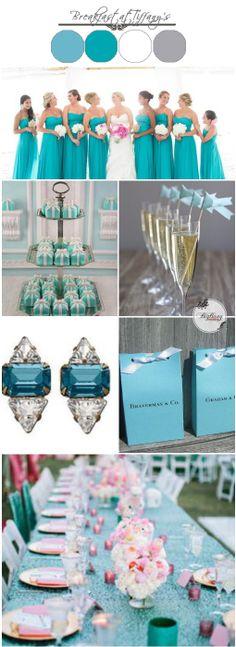 Tiffany Blue Wedding Ideas | BigBang Wedding Singapore | BigBangWedding.  A tiffany inspired colour palette for your wedding.