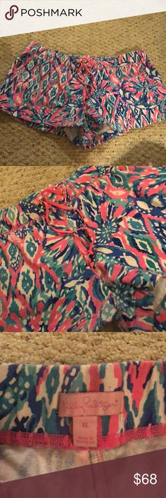 Lilly Pulitzer shorts Good condition Lilly Pulitzer Shorts