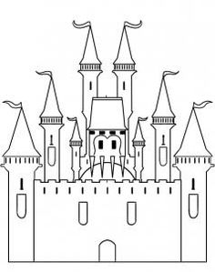Easy Drawings Step by step castle drawing Castle Drawing Easy, Disney Castle Drawing, Disney Drawings, Drawing Disney, Drawing Lessons, Art Lessons, Drawing Guide, Drawing Ideas, Chateau Disney