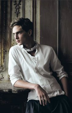 Mathias Lauridsen as a very young pre-Solway Moss Lymond. Here he's taken refuge in the tower room after yet another violent confrontation with Gavin...