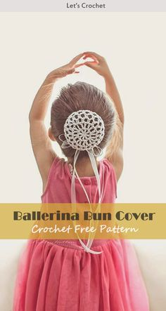 This Dancer Ballerina Bun Cover Crochet Free Pattern is a simple and useful pattern that are perfect for parents who have young girls. Make one now with the free pattern provided by the link below. Crochet Deer, Crochet Girls, Crochet For Kids, Free Crochet, Knit Crochet, Crochet Hair Accessories, Crochet Hair Styles, Phone Accessories, Crochet Baby Blanket Beginner