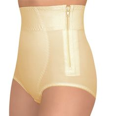 Medical Grade HIGH WAIST Postpartum Recovery Panties, Tummy Forming Girdle Body Shaper (L, Beige) by Tonus Elast -- Check this awesome product by going to the link at the image.