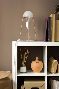 "everything-creative:  ""Agraffé  A very simple and beautiful lamp, inspired by the wires that hold the cork on a champagne bottle. Designed by Giulia Agnoletto in Italy.  Everything Creative on Facebook  """