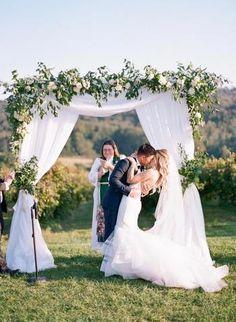 A Classic and Heartfelt Virginia Vineyard Wedding Barolo Wine, Virginia Wineries, California Wine, Vineyard Wedding, Greenery, Wedding Invitations, Reception, Wedding Inspiration, Wedding Dresses