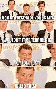 I hate you sometimes, Moffat.