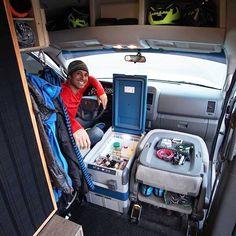 Survival camping tips Camper Van Shower, Camper Van Kitchen, Van Conversion Plans, Camper Van Conversion Diy, Motorhome, Ford Transit Connect Camper, Camper Interior Design, Truck Living, Diy Camper Trailer
