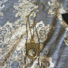 """NEW LOW LUV BY ERIN WASSON 14KGP BOHEMIAN NECKLACE NEW! Retail $150 + TAX. Low Luv by Erin Wasson bohemian 14k gold plated long pullover necklace. 30"""" long chain. 3"""" pendant drop.NO TRADES OR QUESTION COMMENTS FROM NON SERIOUS BUYERSDO NOT BUNDLE UNLESS YOU INTEND TO BUYDO NOT LOWBALL & NO PRICE COMMENTSPRICE IS REFLECTED ON PM FEES AND HOW MUCH I PAID Erin Wasson Jewelry Necklaces"""
