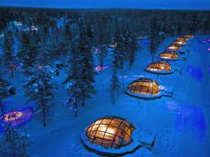 Buck the trend of tropical honeymoons and instead, head to this Finnish city, which really comes alive in the winter. You can partake in all sorts of activities that pretty much scream
