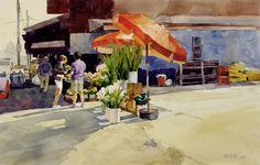 Strip District Flower Vendor Bill Vrscak