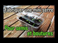 Fabriquer une serre semis avec des fen tres de r cup semis serre et r cup - Fabriquer une mini serre pour semis ...