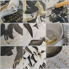 Movie Posters, Modern Calligraphy, Latin Dance, White Gold, Bridge, Fresh, Artist, Paint, Film Poster
