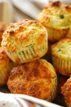 Cheese and Herb Muffins.