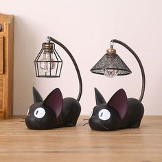 Cat Lover Gifts, Cat Gifts, Cat Lovers, Kiki's Delivery Service Cat, Kiki Delivery, Cage Light, Light Led, Apollo Box, Night Lamps