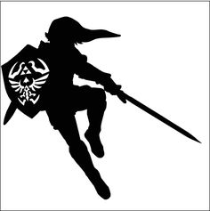 Link Silhouette by Ba-ru-ga on DeviantArt