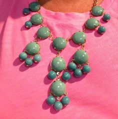 wear turquoise with neon!
