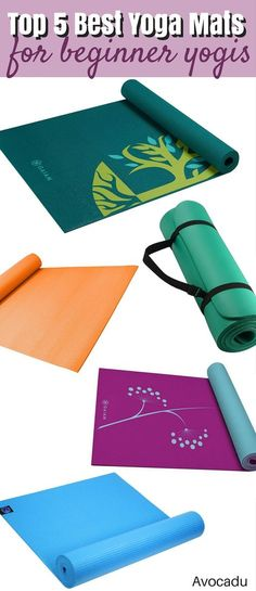 """If you've ever seen the """"extensive"""" cleaning that happens in most yoga studios, you'll understand why getting your own is a good idea. Also, getting a great yoga mat will help in the enjoyment of your practice! http://avocadu.com/5-best-yoga-mats-beginner-yogis/"""
