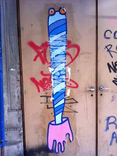 Street art fork