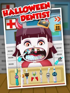 Halloween Dentist - Kids Game Halloween Teeth, Games For Kids, Android Apps, Games For Children