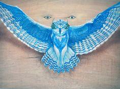"Owl. ""Dado Motta"" art."