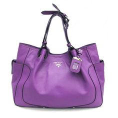 Purple Prada. I hope to meet a generous benefactor who will give me one of these for Christmas! A gal can dream!
